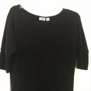 Cato black holiday dress